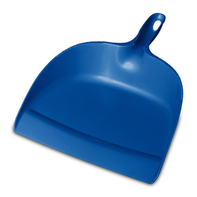 DUST PAN HANDHELD BLUE