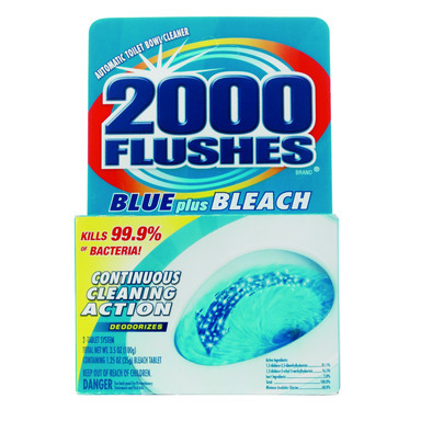 2000 FLUSHES CLNR 2PK