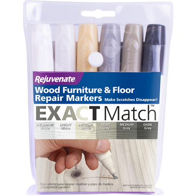 STAIN MARKER GRY/WHT 6PK