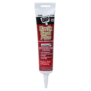 CAULK KWIKSEAL+CLR 5.5OZ