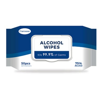 ALCOHOL WIPES 50PK