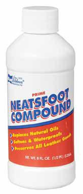 OIL NEATSFOOT 1/2 PT