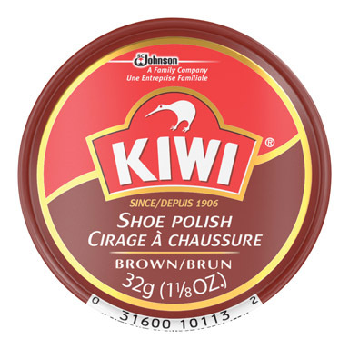 Polish Shoe 1-1/8oz Brn