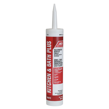 CAULK K&B WHT 10.1OZ ACE
