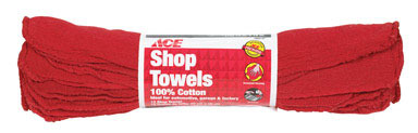 SHOP TOWELS RED RL/12