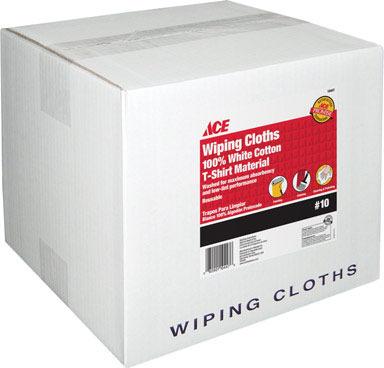 WIPING CLOTHS WHT #10BOX