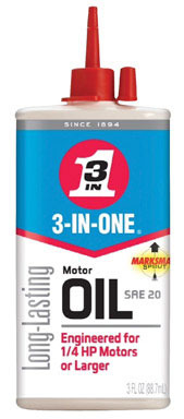 3IN1 ELECT MOTOR OIL 3OZ