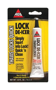 Lock De-icer 1/2 Oz