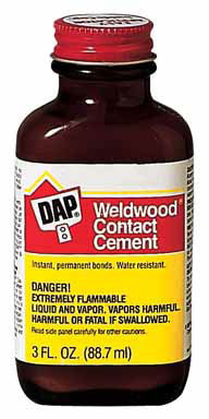 GLUE CONTACT CMNT3OZ DAP