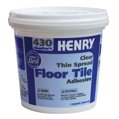 GLUE FLOOR TILE QT HENRY
