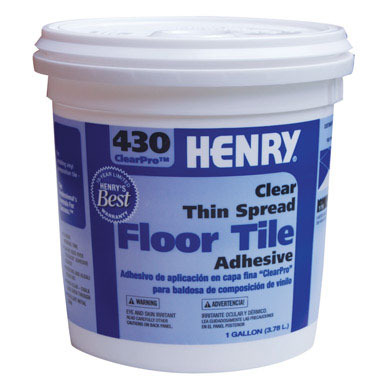 GLUE FLOOR TILE GL HENRY