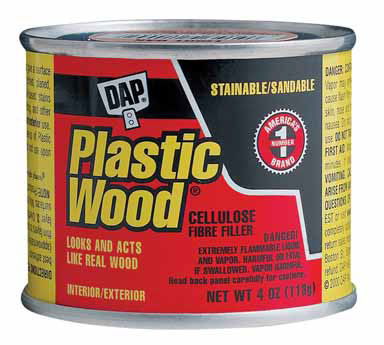 PLASTIC WOOD FILLER 4OZ