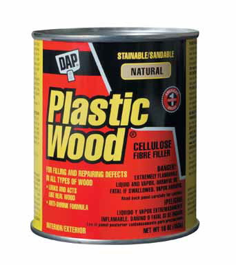 PLASTIC WOOD FILLER 16OZ