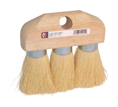 Brush 3-knot Roof Tamp