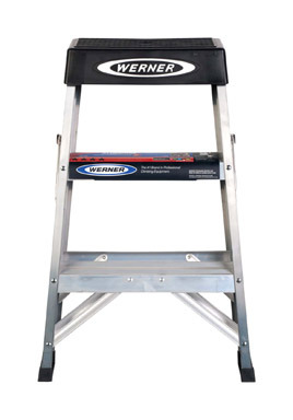 STEP LADDER 2'ALUMTYPE1A