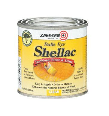 SEALER SHELLAC CLR 0.5PT