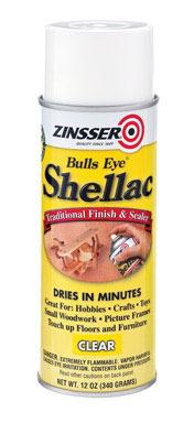 SHELLAC SPRY CLEAR 12OZ