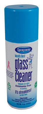 SPRAYWAY GLASS CLNR 4OZ