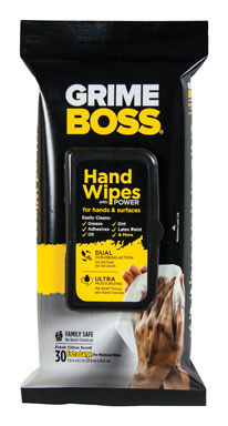 GRIME BOSS HAND WIPE30CT