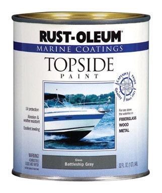 Marine Top Paint Gray Qt