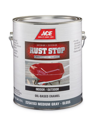 williams ace hardware gallon gray rust paint. Black Bedroom Furniture Sets. Home Design Ideas
