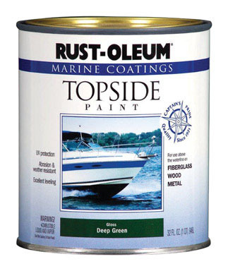 Marine Top Paint Grn Qt