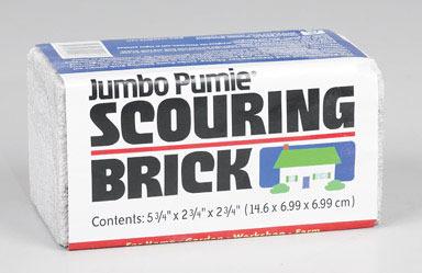 "SCOUR BRICK JUMBO 5-3/4"""