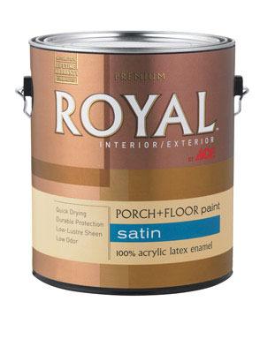Williams Ace Hardware Bark Brown Latex Floor Paint Gal