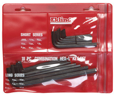 Hex Key Combo Set L 18pc