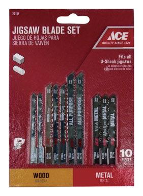 BLADE JIG SET 10PC ACE