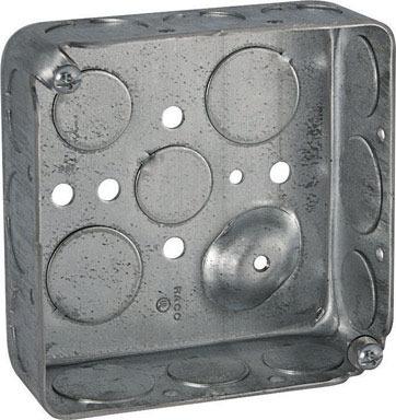 """BOX SQ 1 1/2""""D 1/2-3/4""""K"""