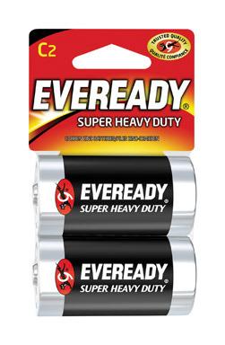 Battery Hvy Dty C 2pk