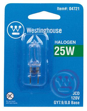 LAMP HALOGEN T-4 25 WATT