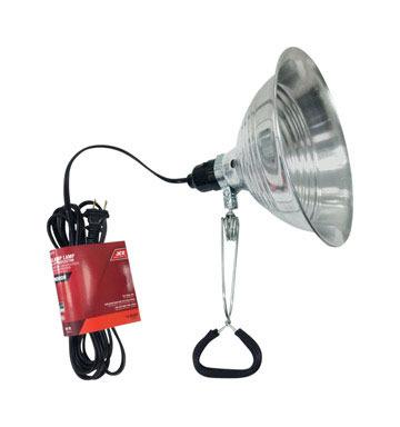 CLAMP LAMP 18/2 SJTW 15'