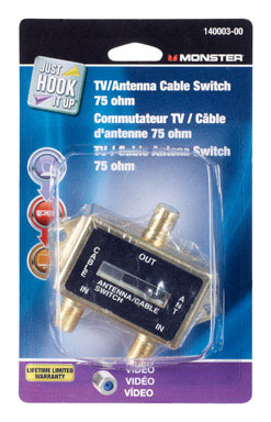 SWITCH 2-WAY COAX
