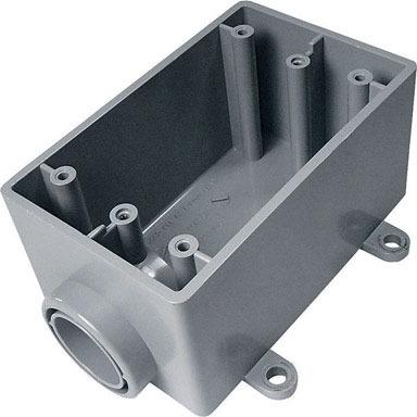"""BOX OUTLET PVC FSE 3/4"""""""