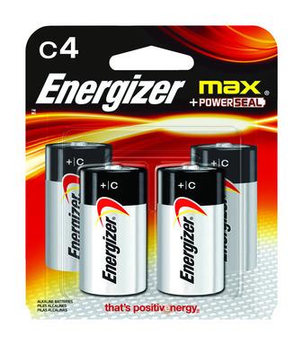 ENERGZR MAX BATT C CD4