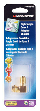 RIGHT ANGLE COAX FEMALE ADAPTER
