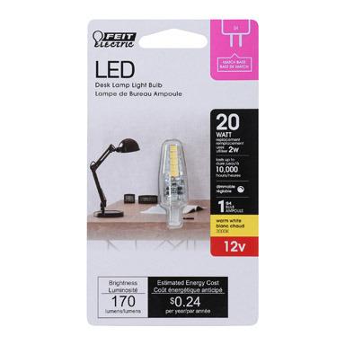 LED 2-PIN BASE 2W SW