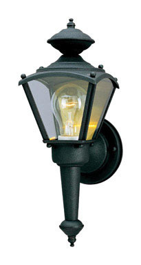 """WALL SCONCE BLK 13.5""""H"""
