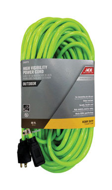 EXTENSION CORD 12/3 GRN