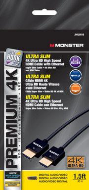 CABLE HDMI SLIM 1.5'