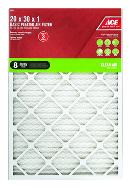 FILTER AIR PLEAT20X30X1