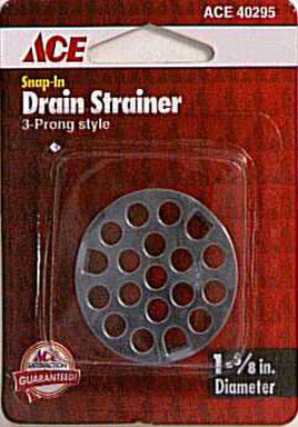 """STRAINER SNAP IN 1-5/8"""""""