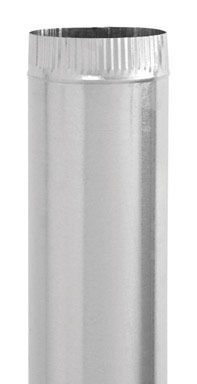 """VENT PIPE 26G 6X24""""GALV"""