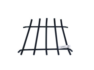 PAINTED STEEL FIREPLACE GRATE