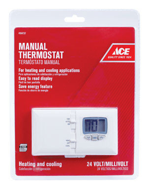 Thermostat Ace Thrmost Manual Ht Amp Ac