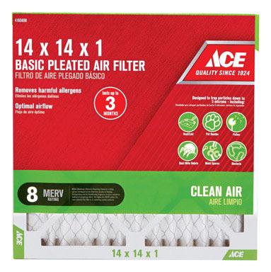 FILTER AIR PLEAT 14X14X1