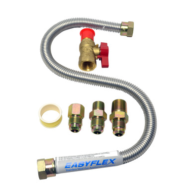 CONNECT GAS HOOKUP KIT