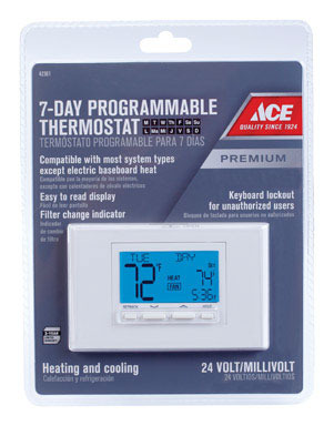 ACE THERMOSTAT DLX PROG